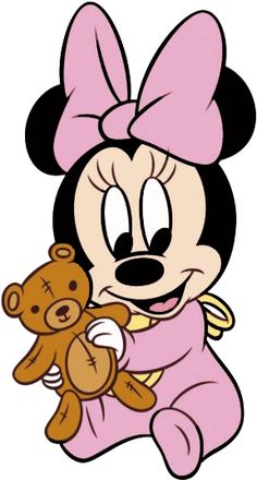 Clipart Mickey Mouse, Minnie Mouse Drawing, Minnie Mouse Cartoons, Mickey E Minnie Mouse, Mickey Mouse Images, Clipart Baby, Baby Mickey, Disney Kunst, Retro Disney