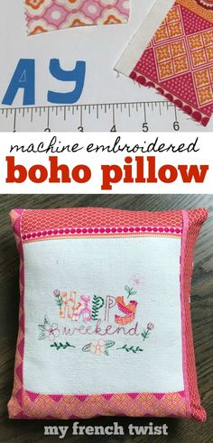 #bohopillow Crafts To Sell, Home Crafts, Fun Crafts, Crafts For Kids, Diy Craft Projects, Projects For Kids, Craft Ideas, Diy Ideas, Sister Gifts
