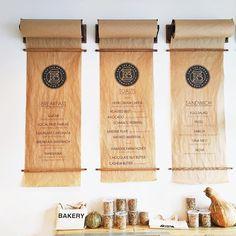 Cool menu display idea