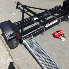 Car drag platform – ACME car drag platform - My Great Pins Trailer Build, Car Trailer, Utility Trailer, Free Trailer, Gmc Motorhome, Brakes Car, Metal Fab, Jeep Rubicon, Custom Wheels