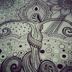 Mother nature ( madre naturaleza By xochitl Peralta ) fb xochitl arte