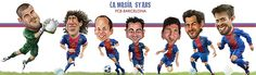 FCB Barcelona stars Carlos Castro ©2013