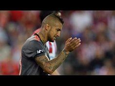 Arturo Vidal vs Atletico Madrid (Away) HD 720p (29/09/2016) - UCL