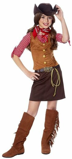 Kids Western Cowgirl Outfit Girls