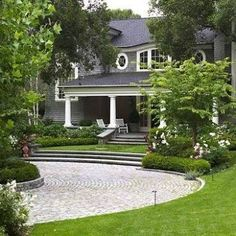 Driveway Ideas Used For a Project | Driveway ideas, Circular ...