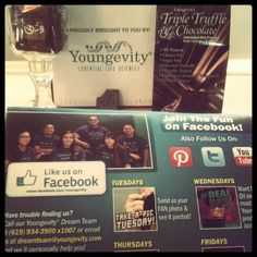 @cortwj Thanks for the tasty chocolate dream team #youngevity