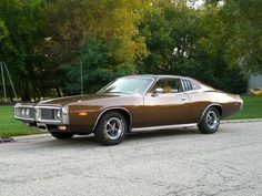1973 Dodge Charger SE - And so began a little girl's lifelong obsession with Mopar muscle...