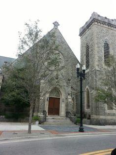Historic downtown Jacksonville Florida
