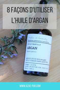 Huile d'argan : 8 idées pour l'utiliser de la meilleure façon - Azaé Pur Gaia, Beauty Care, Diy Beauty, Amazing Shopping, Boutique, Mini Cakes, Natural Skin Care, Natural Beauty, Beautiful Creatures