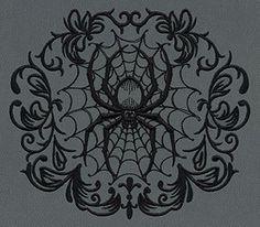 Gothic Gala - Spiderweb design (UT7016) from UrbanThreads.com