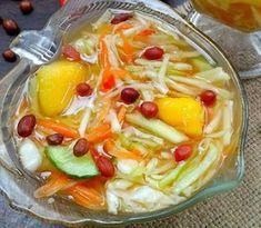 Indonesian Desserts, Indonesian Food, Indonesian Recipes, Fruit Soup, Fruit Snacks, Cake Recipes, Dessert Recipes, Coctails Recipes, Asian Recipes