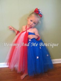 little girls dress for the 4th