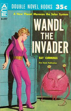 Oh, No. Eek! It's Wandl the Invader