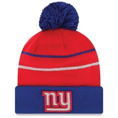 New Era New York Giants TD Classic 39Thirty Hat - Royal Blue/Red