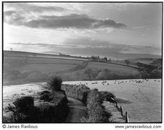 James Ravillious. View towards Iddesleigh & Dartmoor, Iddesleigh, Devon, England, c1985