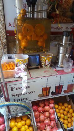 Fresh juice in jeruzalem