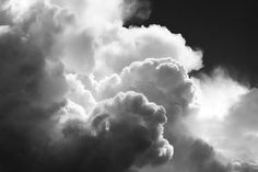 Black and White Sky With Building Dramatic Storm Clouds on Fine art prints and canvas gallery wraps.