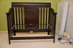 How To Convert Crib Toddler Bed