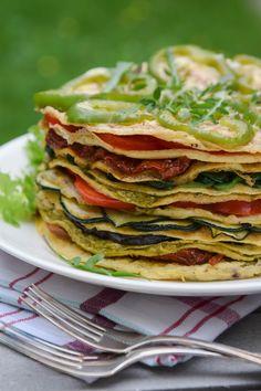 Omelettituhatlehtinen / Omelette cake