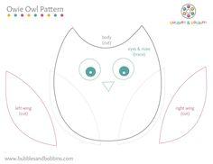 uiltjes | Hieronder enkele gratis patroontjes voor de simpele vilten figuurtjes.