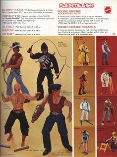 Big Jim's P.A.C.K. by Mattel - I wanted these SO bad