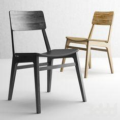 Современный деревянный стул 2623 от Ферри Мобили Италия.