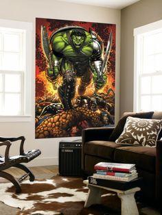 Giant Comic Book Wall Art