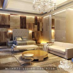 #luxury #master #bedroom #design from #casaprestige www.casaprestige.ae #Dubai #UAE Luxury Interior Design, Best Interior, Villa Design, House Design, Bedroom Apartment, Luxury Bedding, Architecture Design, Dubai Uae, Master Bedrooms