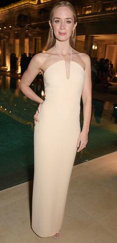 Emily Blunt de Calvin Klein - Cannes 2015