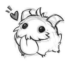 Bildresultat för poro drawing - League of Legends Art Drawings Sketches, Kawaii Drawings, Cartoon Drawings, Easy Drawings, Animal Drawings, Lol League Of Legends, Desenhos League Of Legends, Legend Drawing, Drawing Drawing
