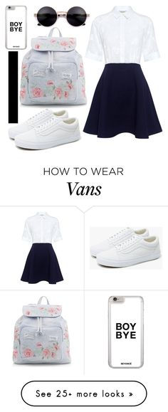 """""Don't gotta look pretty"" ~ StickstoStones"" by emmalineavery on Polyvore featuring Paul & Joe Sister, New Look and Vans"