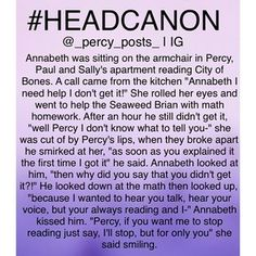 thought of! If you repost please give creds All of my headcanons are here ➡️ #percypostsheadcano