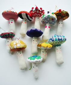 magic mushrooms by modflowers