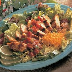 Using McCormick® Taco Seasoning in a marinade is a great way to infuse chicken with a Southwestern flavor. Sliced chicken over a bed of lettuce makes...