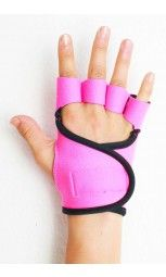 G-Loves Workout Gloves for Women | Hot Pink Black Piping $45