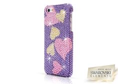 L.O.V.E Luxury Case designed for Apple iPhone 5 #Love #heart #shine #valentinegift #appleiphonecase #iphone5case #Swarovski #crystal #LuxuryCase #UltraCase