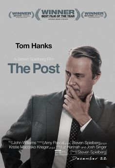 New Posters for Steven Spielberg's 'The Post' - Starring Tom Hanks Meryl Streep Alison Brie Sarah Paulson Carrie Coon David Cross Bruce Greenwood Tracy Letts Bob Odenkirk Jesse Plemons Michael Stuhlbarg and Bradley Whitford New Movie Posters, Cinema Posters, New Poster, Film Posters, Hd Movies, Film Movie, 2017 Movies, Tom Hanks Movies, Bruce Greenwood