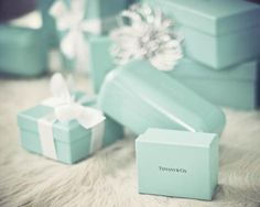 the little blue box from tiffany