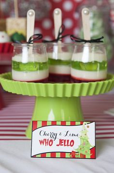Grinch Inspired Christmas Party by Banner Events - Noel - christmas Grinch Party, Grinch Christmas Party, Christmas Party Ideas For Teens, Christmas Baby Shower, Christmas Party Themes, Christmas Snacks, Christmas Brunch, Xmas Party, Christmas Goodies