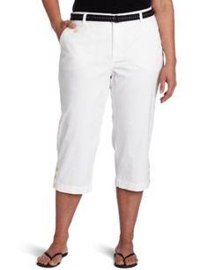 Dockers Women's Plus-Size The Soft Capri Pant, Paper White, 22 Dockers. $31.99