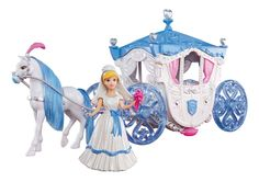 I like the creativity that Cinderella toy horse and carriage provoke. Be it a Disney carriage playset or a castle playset with added characters, fun is guaranteed. Cinderella Toys, Cinderella Carriage, Cinderella Wedding, Princess Carriage, Wedding Disney, Disney Animation, Animation Film, Princess Toys, Disney Princess