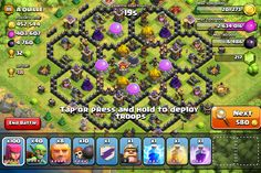 Pretty cool base design (Clash of Clans)