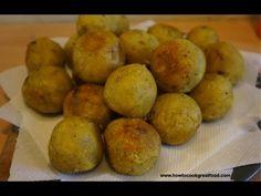 Green Banana & Sweet Potato fried balls recipe how to cook great food ...