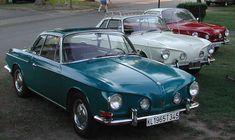 Three 1600 Karmann Ghia (aka Type 34 or Razorback) Made from 1962 to 1969