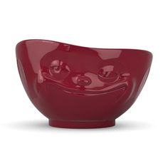 Bowl Grinning Red, 18€, now featured on Fab.