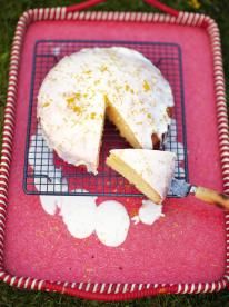 My Nan's St. Clement's cake A classic lemon cake recipe This cake is as sweet and lovely as you'd want it to be. The icing seeps into the sponge to add flavour and the top layer becomes a sherbety, citrusy delight
