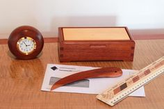 Red Ironbark Gumleaf Letter Opener | Buy Online | Australian Woodwork