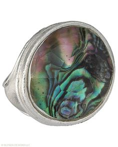 #Shine like a #rock #star! #Abalone, #Glass, #Sterling #Silver. #Silpada #Jewelry