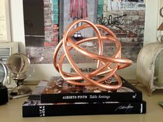 Peep My Style: DIY copper pipe sculpture