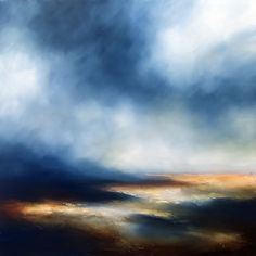 Borderlands, Paul Bennett. Seascape. Oil on canvas. A stunning addition to your home office or study.